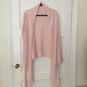 Lululemon ballet light pink wrap cardigan sweater